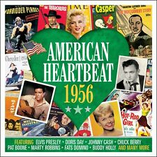 American Heartbeat 1956 VARIOUS ARTISTS Music BEST OF 50 CLASSIC SONGS New 2 CD