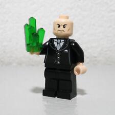 Lex Luthor Superman Villian 6862 Kryptonite Super Hero LEGO Minifigure Figure