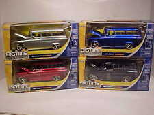 Pack of 4 Chevy Suburban 1957 Die-cast Car 1:24 Jada Toys 8 inch SUV Truck