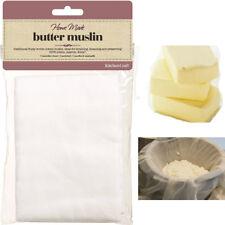 KitchenCraft 100%Cotton Muslin Cloth to Preserve&strain Butter,Jam,Cheese,Herbs