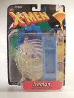 Toy Biz 1998 Marvel Comics X-Men Iceman with Super Ice Sled Action Figure NIB