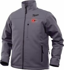 Milwaukee 201G-21M  M12™ Gray Heated Jacket Kit, MEDIUM