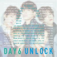 New DAY6 UNLOCK First Limited Edition CD DVD Card Japan WPZL-31524 4943674286966