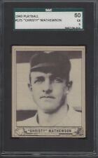 SGC 60 - 1940 Play Ball #175 Christy Mathewson New York Giants