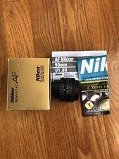 Nikon AF NIKKOR 50mm f/1.8D Camera Lens