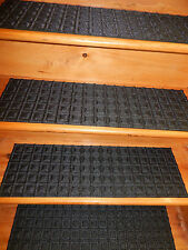 "13=STEP 91/2"" X 30"" Stair Treads RUBBER BACKING"