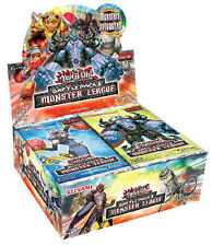 YUGIOH BP03 1ST EDITION BATTLE PACK #3 MONSTER LEAGUE Booster Box 36CT SEALED!!
