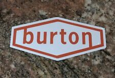 Burton Ski Sticker - Skiing Snowboarding Skiis Snowboards Mountain Sports