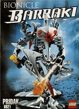 Lego Bionicle # 8921 Pridak - Bauanleitung (keine Steine!)