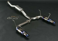 J's Racing: SUS Exhaust Plus dual 60RS Fits Honda Accord CL7 T304W-E2-60RS