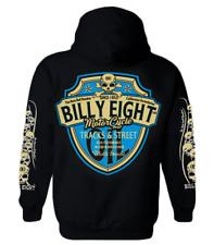 Hooded Sweatshirt Billy EIGHT Closing Zip - - Tracks-Street