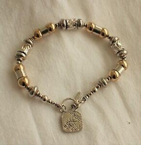 Silver Gold bracelet by Yaron Morhaim