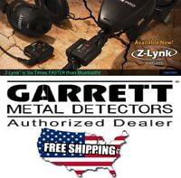 GARRETT Z-LYNK WIRELESS TRANSMITTER & RECEIVER SYSTEM FOR METAL DETECTORS Z-LINK