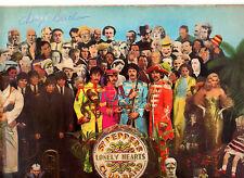 """""""RARE"""".BEATLES.SGT PEPPER'S.GERMAN """"1ST APPLE PRESS"""" (A-1/B-2) LP & INSERT.EX"""