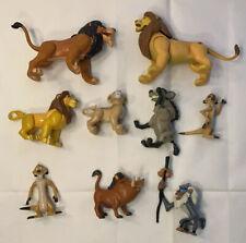 Vintage Disney Lion King Mattel Action Figure Lot Simba Timon Scar Nala 1994