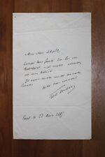 ✒ L.A.S. Thimothée TRIMM dit Léo LESPES à Aurélien SCHOLL - envoie des brochures