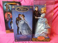 Disney Cinderella and Prince Charming Doll Set Fairytale Designer LTD NRFB MIB