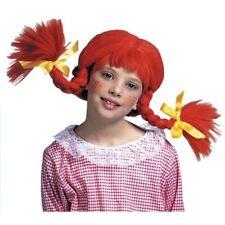Parrucche e barbe rossi marca Widmann per carnevale e teatro poliestere