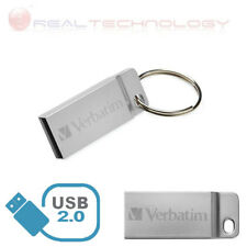 PEN DRIVE FLASH 64GB USB 2.0 VERBATIM MEMORY PEN DRIVE SILVER  STOR'N' GO' 98750