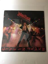 Judas Priest - Unleashed In The East Live In Japan Vinyl Lp Jc 36179 - Tested