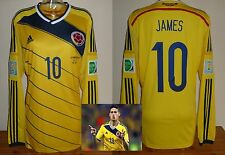 Colombia Camiseta De Fútbol 2014 James Rodriguez BAYERN MUNCHEN REAL MADRID XL