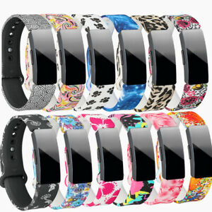 Silicone Sports Bracelet Strap Fashion Band for Fitbit Inspire/Inspire HR ACE2