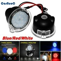2x18 LED Side Mirror Puddle Lights For Ford Mondeo Edge Explorer Blue/Red/White