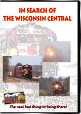 In Search Of The Wisconsin Central DVD NEW Highball WC Rugby Jct Fond du Lac