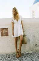 Spell and The Gypsy MAGNOLIA mini lace dress XL BNWT