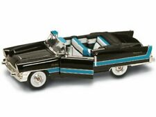 1955 Packard Caribbean Convertible Black Yatming 92618 1/18 Scale Diecast Car