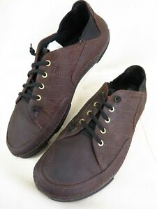 Timberland  Earthkeepers Brookridge Brown Leather Low Oxford 5709R Men's 9.5