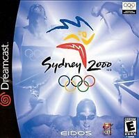 Sydney 2000 (Sega Dreamcast, 2000) complete w/t Manual - Shipped in US in ! day