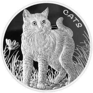 Fidschi / Fiji 2021 - Fiji Cats (1.) - Premium-Anlagemünze - 1 Oz Silber ST