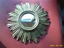 Runde barocke antike spiegel in gold g nstig kaufen ebay - Runder spiegel gold ...