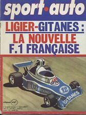 SPORT AUTO n°164 09/1975  LIGIER F1 MATRA BAGHERRA S