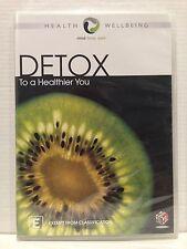 DETOX ~ TO A HEALTHIER YOU ~ MIND, BODY, SPIRIT ~ DVD ~ BRAND NEW & SEALED