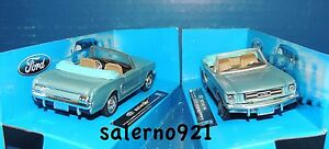 ONE 1964 FORD MUNSTANG CONVERTIBLE BLUE COLOR1:43 (O) Scale  NWB !