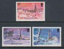 Isle of Man - 1985, Christmas, Churches set - MNH - SG 303/5