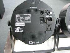 CHAUVET DJ EZpar 64 RGBA Battery-Powered LED PAR (Black) Set of 4 With Case