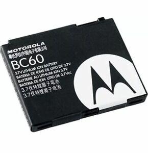 Motorola BC60 BC-60 Replacement Battery for RAZR V3x, SLVR L2, SLVR L6, SLVR L7