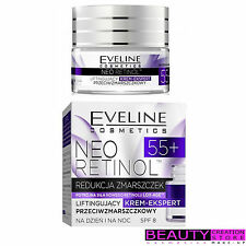 EVELINE Neo Retinol 55+ Face Lifting Cream Expert Anti-Wrinkle 50ml EV110-1