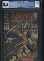 Avengers #34 CGC 8.5 - 1st appearance of the LIVING LASER 1966