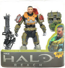 "Halo Reach Series 4 JORGE Unhelmeted 5.5"" Action Figure McFarlane 2011"