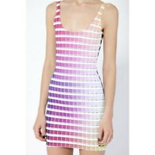 HEX BLACK MILK DRESS Large new with tags museum rare sold out pantone rainbow