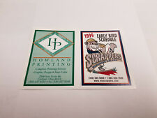 Mahoning Valley Scrappers 1999 Early Bird Minor Baseball Pocket Schedule