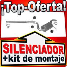 Silenciador intermedio SKODA OCTAVIA VW GOLF V VW JETTA A5 2.0TDI Escape AMP