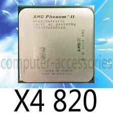 AMD Phenom II X4-820 Quad-Core 2.80GHz 667MHz HT 4MB L3 Socket CPU Processor