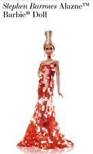 Stephen Burrows Alazne Gold Label Barbie Doll Ltd Ed NIB New Stand Shipper