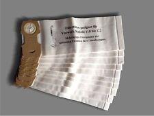 10 Sacchetto per aspirapolvere adatto per Vorwerk Folletto 118