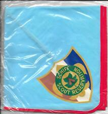 Schiff Scout Reservation Neckerchief Vintage Boy Scouts of America BSA Training
